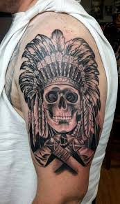 Indian Skull Tattoo Meaning 36