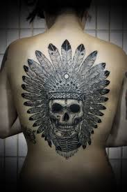 Indian Skull Tattoo Meaning 40