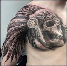 Indian Skull Tattoo Meaning 41