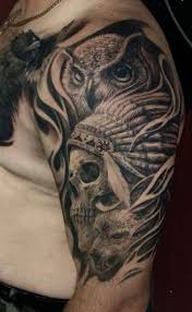 Indian Skull Tattoo Meaning 43