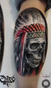 Indian Skull Tattoo Meaning 5