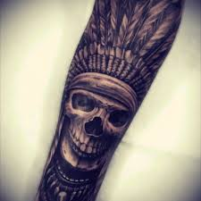 Indian Skull Tattoo Meaning 6