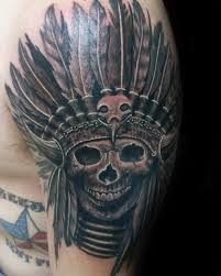 Indian Skull Tattoo Meaning 8