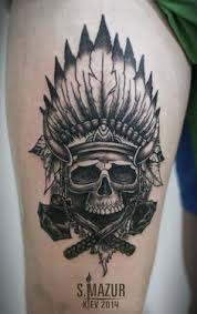 Indian Skull Tattoo Meaning 9