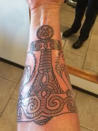 Thors Hammer Tattoo Meaning 29
