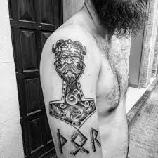 Thors Hammer Tattoo Meaning 6