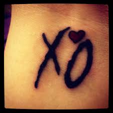 XO Tattoo Meaning 1