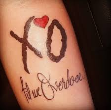 XO Tattoo Meaning 27