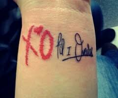 XO Tattoo Meaning 31