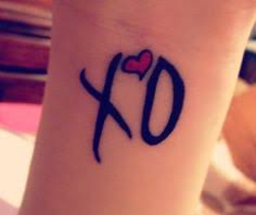XO Tattoo Meaning 7