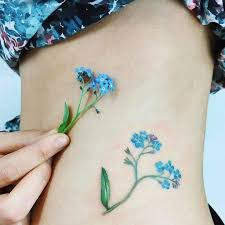 Forget Me Not Tattoo Meaning 13