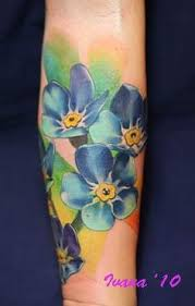 Forget Me Not Tattoo Meaning 14