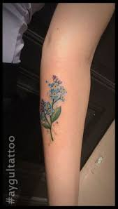 Forget Me Not Tattoo Meaning 41