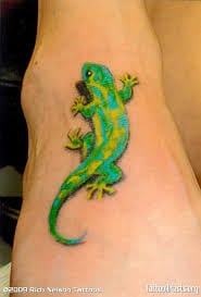 Gecko Tattoo Meaning 2