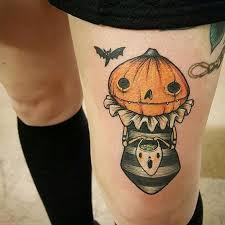 Ghost Tattoo Meaning 1