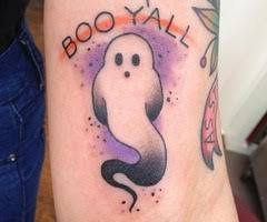 Ghost Tattoo Meaning 33