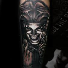 Jester Tattoo Meaning 1