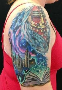 Megan Butler Cincinnati Ohio Tattoo Artist