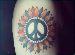 Peace Sign Tattoo Meaning 10