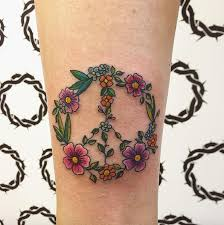 Peace Sign Tattoo Meaning 21