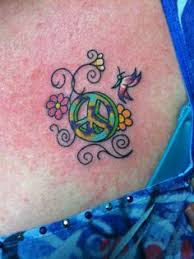 Peace Sign Tattoo Meaning 32