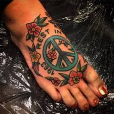 Peace Sign Tattoo Meaning 33