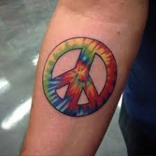 Peace Sign Tattoo Meaning 36