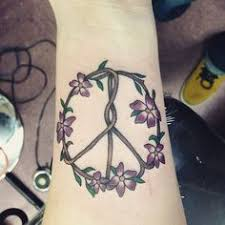 Peace Sign Tattoo Meaning 39