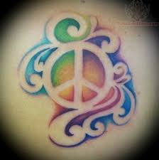 Peace Sign Tattoo Meaning 7