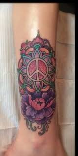 Peace Sign Tattoo Meaning 9