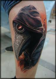 Plague Doctor Tattoo Meaning 1