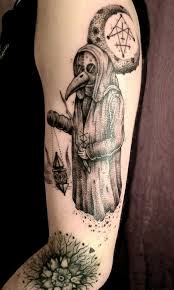 Plague Doctor Tattoo Meaning 11