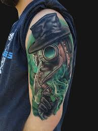 Plague Doctor Tattoo Meaning 12