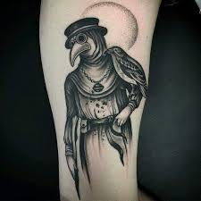 Plague Doctor Tattoo Meaning 13