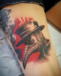 Plague Doctor Tattoo Meaning 18