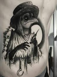Plague Doctor Tattoo Meaning 19