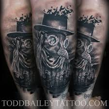 Plague Doctor Tattoo Meaning 23