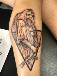 Plague Doctor Tattoo Meaning 24
