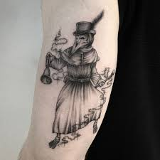 Plague Doctor Tattoo Meaning 26