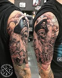 Plague Doctor Tattoo Meaning 29