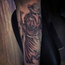 Plague Doctor Tattoo Meaning 36