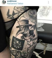 Plague Doctor Tattoo Meaning 39