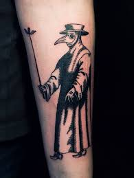 Plague Doctor Tattoo Meaning 4