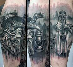 Plague Doctor Tattoo Meaning 42