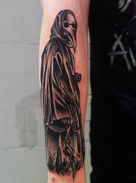 Plague Doctor Tattoo Meaning 6