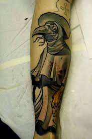 Plague Doctor Tattoo Meaning 9