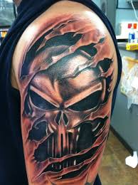 Punisher Tattoo Meaning 22