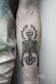 Skeleton Tattoo Meaning 45
