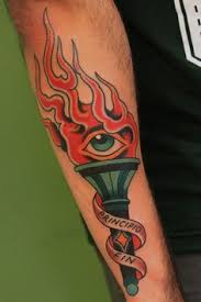Torch Tattoo Meaning 11