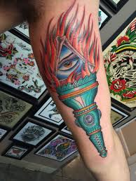 Torch Tattoo Meaning 2
